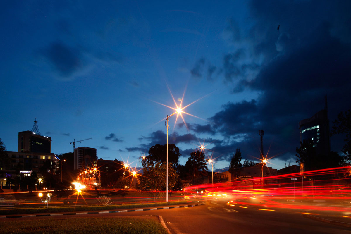 Strassenbau Kigali